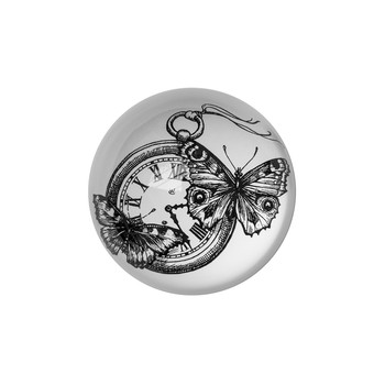 Domed Paperweight - Time Flies