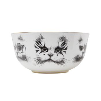 Bewitching Bowls - Cat with Monocle