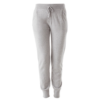 Wilma Knitted Lounge Trousers - Warm Grey - Small