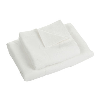 Unikko Solid Bath Towel - White