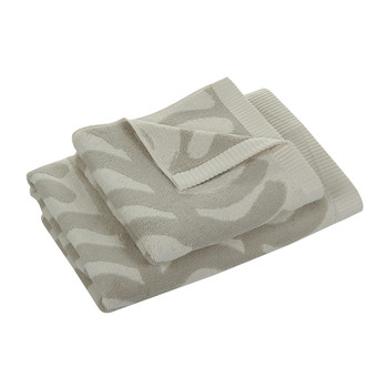 Rautasanky Bath Towel - Grey/White