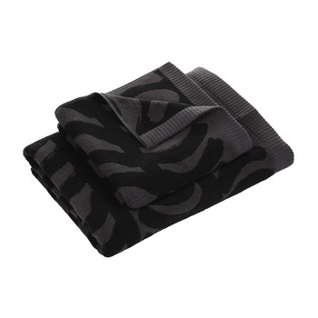 Rautasanky Bath Towel - Grey/Black