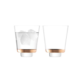 Edge Tumbler - Rose Gold - Set of 2