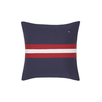 Colour Block Cushion - 40x40cm - Navy