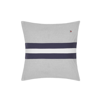 Colour Block Cushion - 40x40cm - Grey