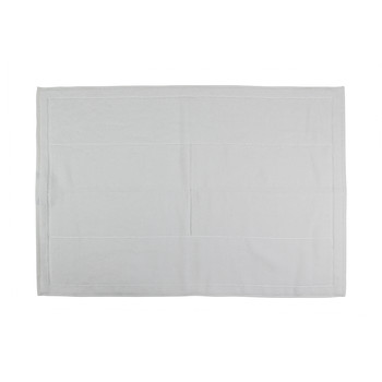Plain Range Bath Mat - White