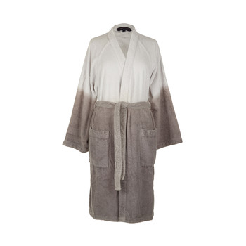 Gray Dip Dye Bathrobe