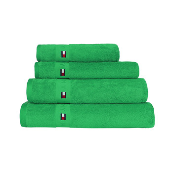 Plain Green Range Towel