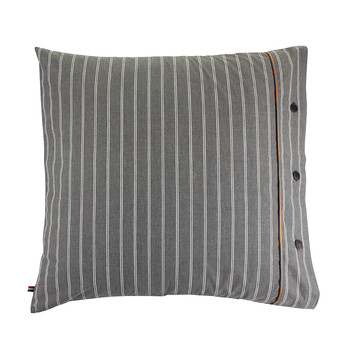 Gray Stripe Pillowcase