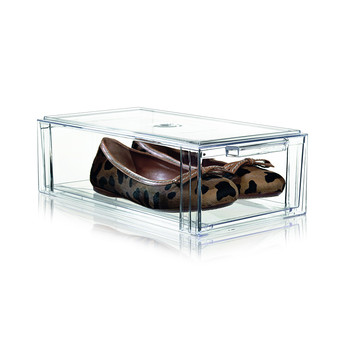 Clear Shoe Drawer - Small