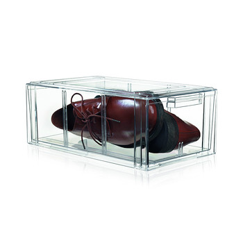 Clear Shoe Drawer - Medium
