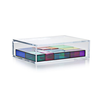 Acrylic Jewelry Box - Multi-Color