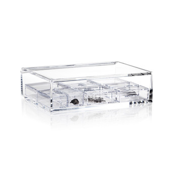 Acrylic Jewelry Box - Clear