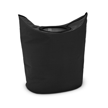 Oval Laundry Bag - 50 Litres - Black