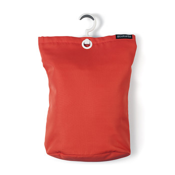 Hanging Laundry Bag - Warm Red