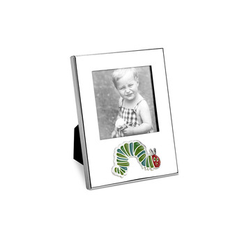Silver Caterpillar Photo Frame