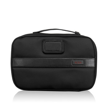 Alpha Travel Split Travel Kit - Black