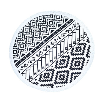 Lulu Round Beach Towel - Tribal