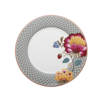 Fantasy Blue Dinner Plate