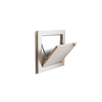 Flapps Single Folding Shelf - White