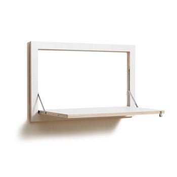 Flapps Folding Wall Desk - White