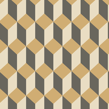 Delano Wallpaper - Gold & Black - 105/7030