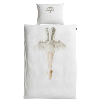 Ballerina Flannel Single Duvet Set