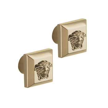 Superbe Decorative Drawer Handles - Set Of 2 - Gold