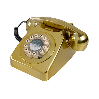 746 Classic Telephone - Brass Brushed
