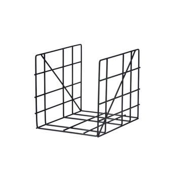 Square Magazine Holder - Black