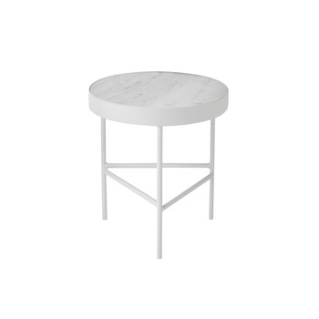 Marble Table - Medium - White Bianco Carra