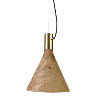 Flask Ceiling Light - Wood