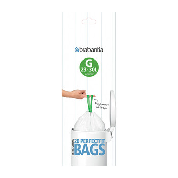 Perfect Fit Bin Bags - 23-30 Litre