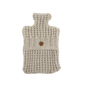 Ila Hot Water Bottle Cover - Oatmeal