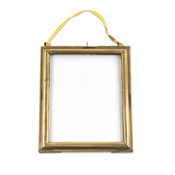 Kariba Antique Brass Frame - Portrait