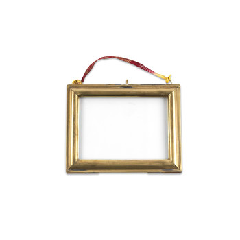 Kariba Antique Brass Frame - Landscape