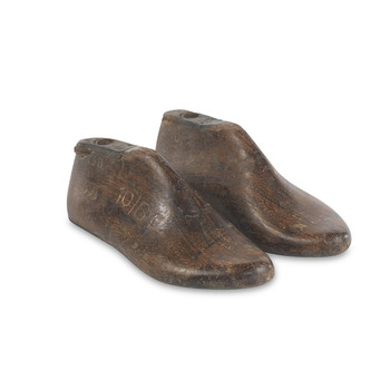 Reclaimed Shoe Last - Natural - Set of 2
