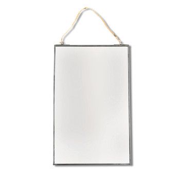 Kiko Mirror - Antique Zinc