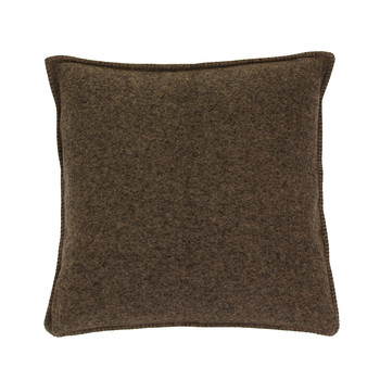 Soft Wool Pillow - 50x50cm - Wood