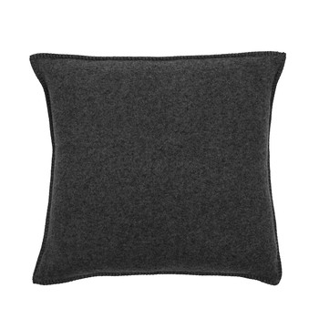 Soft Wool Cushion - 50x50cm - Dark Grey