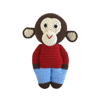 Crochet Midi Chimp - Chocolate
