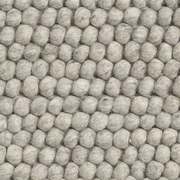 Peas Rug - Soft Gray