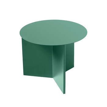 Slit Table - Round - Green