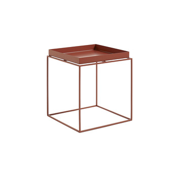 Red Tray Table  - Medium