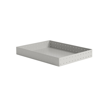 Punched Organizer A4 Tray - Warm Gray