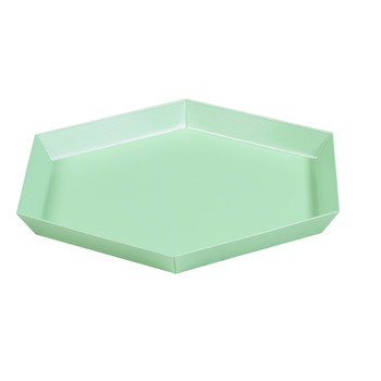 Kaleido Hexagon Tray - Small - Mint