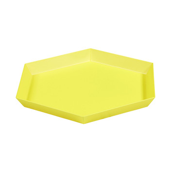 Kaleido Hexagon Tray - Small - Yellow
