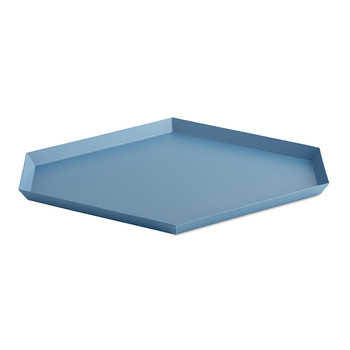 Kaleido Hexagon Tray - Large - Blue