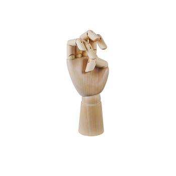 Wooden Hand Decoration