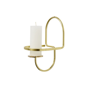 Lup Wall Candle Holder - Half Round